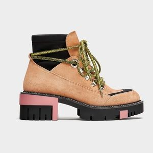 MOST WANTED ZARA WORK ANKLE BOOT TIMBERLAND SUEDE